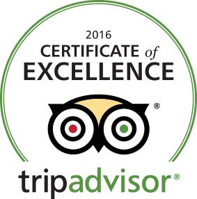 Trip Advisor excellance 2016