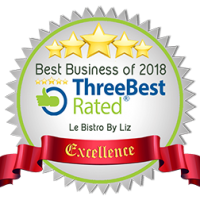 Threebest rated award