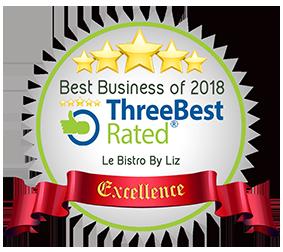 Threebest rated award
